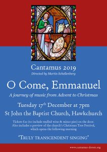 cantamus advent poster