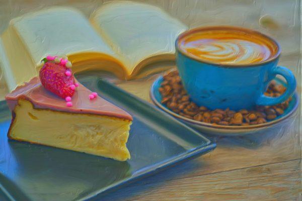 square coffee cake no text